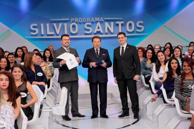 Grupo educacional com sede em Porto Alegre concede título de doutor honoris causa a Silvio Santos Lourival Ribeiro / SBT/Divulgação/SBT/Divulgação