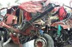 Caminhoneiro que se acidentou em Caçapava do Sul segue em estado grave Polícia Rodoviária Federal/Divulgação