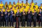 Revelaremos um país onde a democracia é estável, diz Temer a atletas olímpicos Beto Barata/Presidência da República