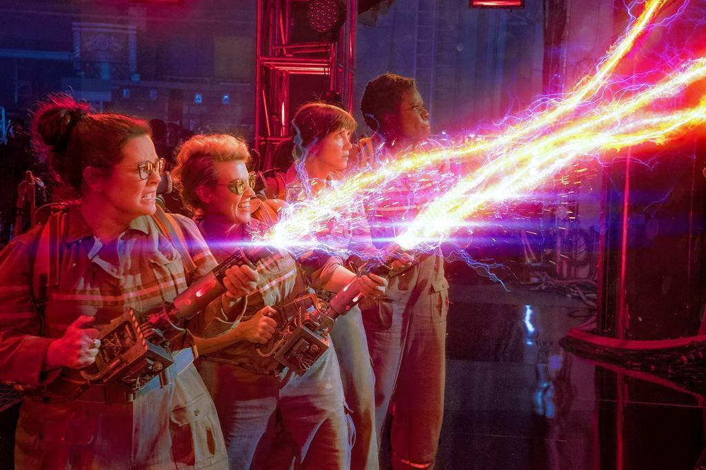 """Com mulheres no comando, novo """"Caça-Fantasmas"""" estreia nos cinemas Sony/Divulgação"""