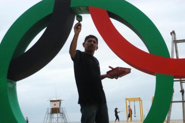 Com promessas não cumpridas e obras inacabadas, Rio vive clima de frustração às vésperas da Olimpíada ALESSANDRO BUZAS/FUTURA PRESS/ESTADÃO CONTEÚDO