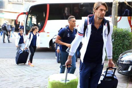 Franceses começam em Porto Alegre preparação para Olimpíada (Jefferson Botega/Agencia RBS)