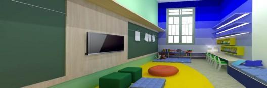 Faculdade de Porto Alegre cria espaço kids com custo a partir de R$ 50 por mês /