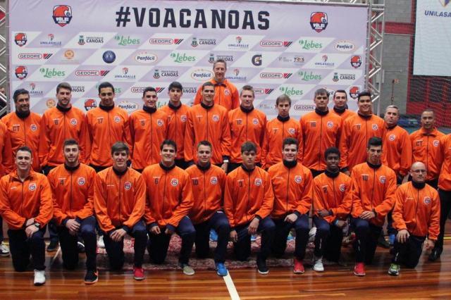 Vôlei Canoas apresenta elenco para a temporada 2016/2017 Fernando Potrick/Vôlei Canoas / Divulgação