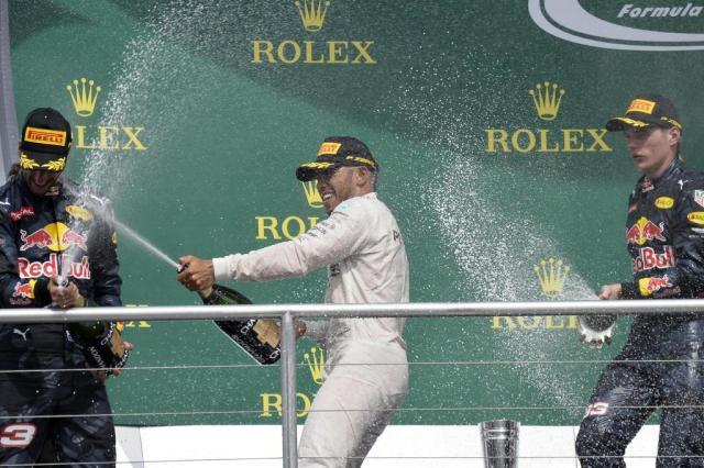 Hamilton vence GP da Alemanha e abre vantagem sobre Rosberg no Mundial de pilotos THOMAS KIENZLE/AFP