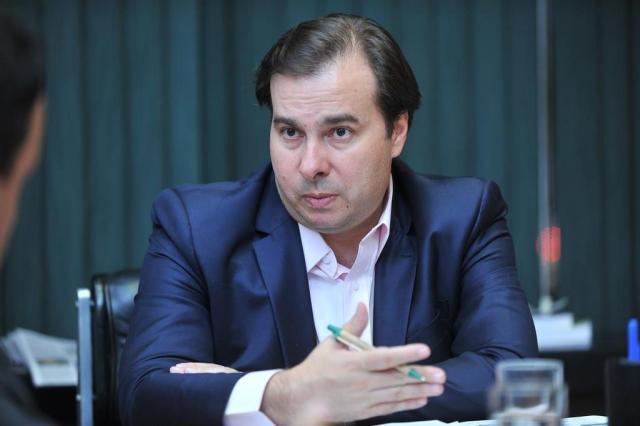 Maia diz que projeto de anistiar caixa 2 será votado no pacote anticorrupção J.Batista/Câmara dos Deputados