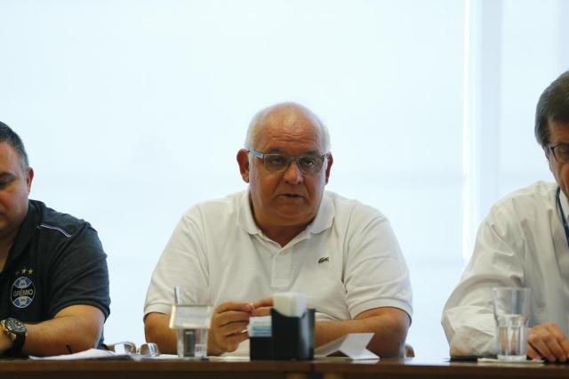 Romildo Bolzan Jr. confirma candidatura à reeleição no Grêmio Félix Zucco/Agencia RBS