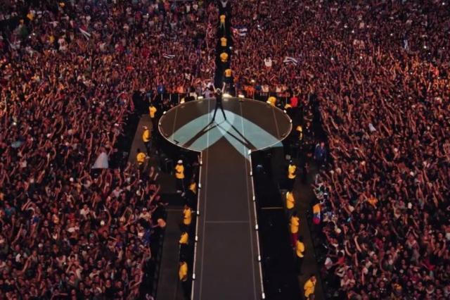 Show dos Rolling Stones em Cuba já tem data para estrear no cinema reprodução/Divulgação