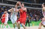 """Espanha larga perdendo no basquete masculino e fala em """"sair para ganhar"""" contra o Brasil FEB  / Divulgação/Divulgação"""