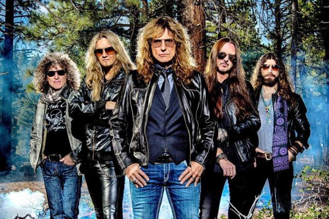 Whitesnake celebra seus principais sucessos em show em Porto Alegre Ash Newell/Divulgação