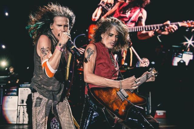 Em meio a rumores sobre o fim da banda, Aerosmith apresenta desfile de clássicos em Porto Alegre Hits Entretenimento/Divulgação