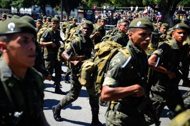Temer autoriza uso das Forças Armadas para reforçar segurança no Rio de Janeiro Tomaz Silva/Agência Brasil