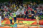 Ágatha reconhece superioridade alemã e festeja prata no vôlei de praia Diego Vara/Agência RBS