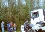 Cinco pessoas morrem em colisão frontal no noroeste do RS (Comando Rodoviário / Divulgação/Divulgação)