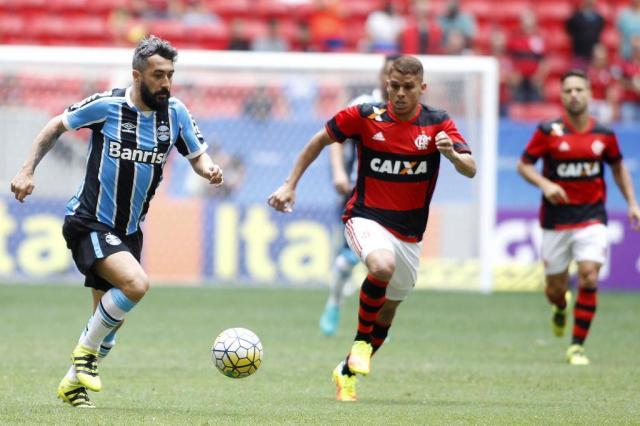 Grêmio perde para o Flamengo e deixa o G-4 do Brasileirão ADALBERTO MARQUES/AGIF/ESTADÃO CONTEÚDO