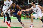 Invictos, Estados Unidos vencem Sérvia e levam ouro no basquete Mark RALSTON/AFP
