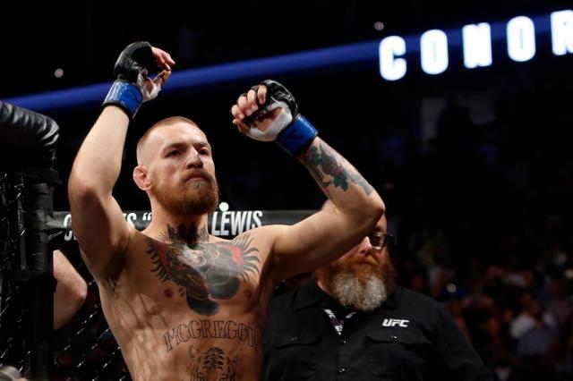Dana White indica que McGregor não disputará cinturão dos leves Steve Marcus/Getty Images/AFP