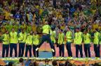 Serginho é eleito o melhor jogador, e Brasil domina lista do time dos sonhos do voleibol masculino MARCELLO DIAS/Estadão Conteúdo