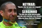 Atitudes de Neymar após ouro olímpico geram comparações com Serginho, do vôlei - / Twitter/Reprodução/Twitter/Reprodução
