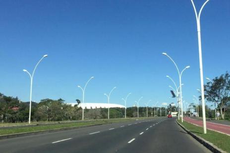 Câmara rejeita projeto que ampliaria bloqueio da Avenida Edvaldo Pereira Paiva para lazer Reprodução/Pelas Ruas