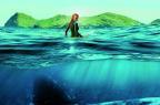 """Blake Lively enfrenta um tubarão em """"Águas rasas"""", que estreia nesta quinta (Sony/Divulgação)"""