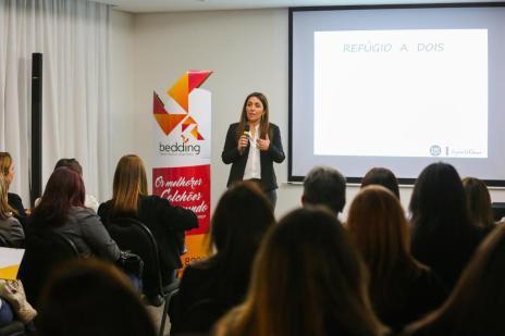 Casa&Cia Talks: veja como foi o evento que abordou o tema Dormitório de casal: refúgio a dois (Omar Freitas/Agencia RBS)