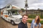 Max Fercondini e Amanda Richter percorrem América do Sul de motorhome em novo quadro (Globo/Divulgação)