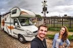 Max Fercondini e Amanda Richter percorrem América do Sul de motorhome em novo quadro Globo/Divulgação