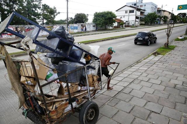 Câmara de Porto Alegre aprova prorrogação de seis meses para circulação de carrinheiros Mateus Bruxel/Agencia RBS