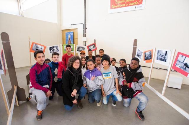 Crianças da Restinga vão expor suas fotos em diversos pontos de Porto Alegre Omar Freitas/Agencia RBS