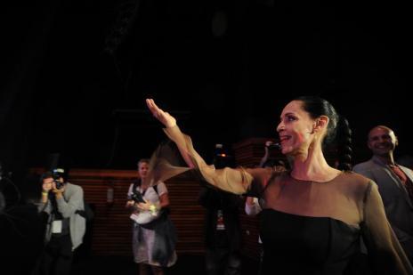 """Sonia Braga é homenageada no Festival de Gramado em meio à polêmica sobre """"Aquarius"""" (Felipe Nyland/Agencia RBS)"""