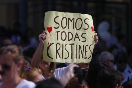 Colégio Dom Bosco realiza protesto após morte de mãe de aluno (Felix Zucco/Agência RBS)