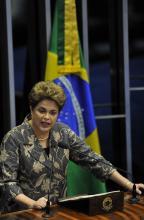 Leia a íntegra do discurso de Dilma no Senado Mateus Bruxel/Agencia RBS