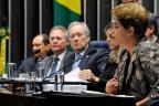 Dilma afirma que pode recorrer ao STF se impeachment for aprovado no Senado Edilson Rodrigues/Agência Senado