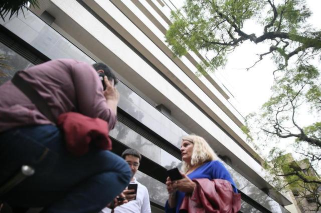 Defesa Civil interdita centro empresarial em Porto Alegre após tremor de elevador Lauro Alves/Agencia RBS