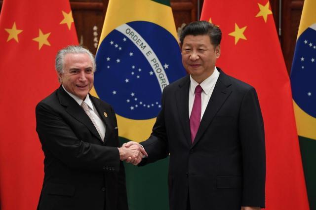 Resultado de imagem para Empresas chinesas querem investir US$ 20 bilhões no Brasil em 2017