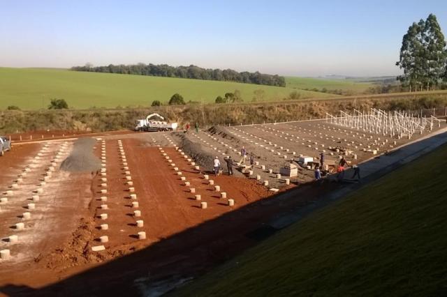 Cooperativa conclui primeira usina solar do Estado até novembro Creluz/Divulgação