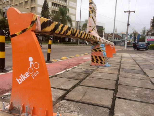 Atrasa instalação de novas estações do BikePoa Jocimar Farina / Gaúcha/