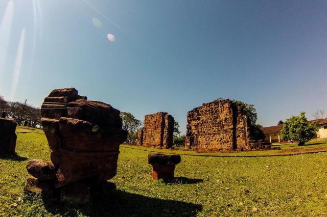 Ruínas de São Nicolau são vestígio do passado das Missões Jesuíticas Jonas Santos/Agencia RBS