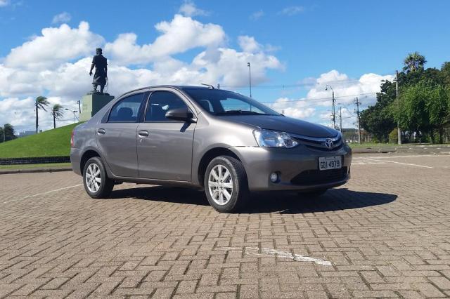 Etios comprova: conforto é o ponto forte do sedã da Toyota Daniel Jacques/Especial