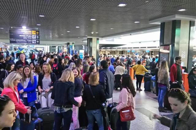 Neblina fecha aeroporto Salgado Filho por três horas na manhã deste sábado Arquivo Pessoal/Divulgação