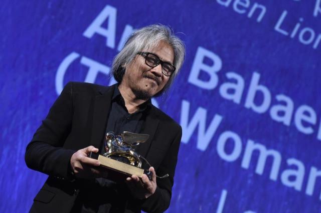 """Filipino """"The Woman Who Left"""" conquista Leão de Ouro em Veneza TIZIANA FABI/AFP"""