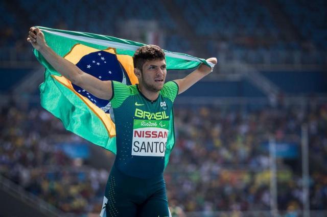 Petrucio Ferreira conquista o ouro nos100m T47 Daniel Zappe/MPIX/CPB,Divulgação