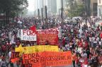 Manifestantes ocupam Avenida Paulista em novo protesto contra Temer RENATO S. CERQUEIRA/FUTURA PRESS/FUTURA PRESS/ESTADÃO CONTEÚDO
