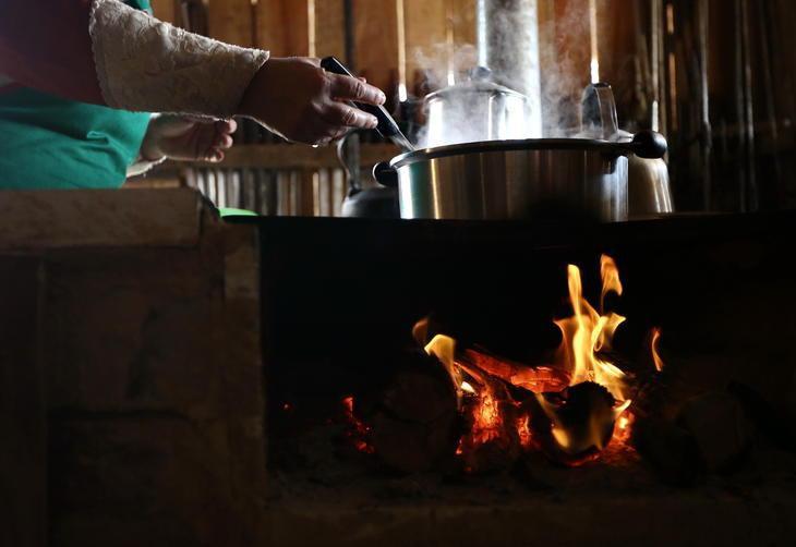 Resultado de imagem para culinaria do acampamento farroupilha 2017