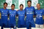 Equipe brasileira de tênis já está na Bélgica para a disputa da Copa Davis