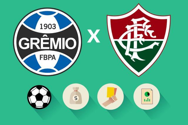 Grêmio x Fluminense: estatísticas, renda e público, saiba como foi a partida Arte ZH/Agência RBS
