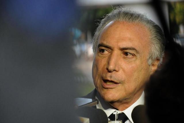 Não estou preocupado com o que Cunha venha a fazer, diz Temer ANDRESSA ANHOLETE/AFP