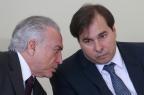 Rodrigo Maia nega engavetamento de impeachment de Temer ANDRÉ DUSEK/AGENCIA ESTADO