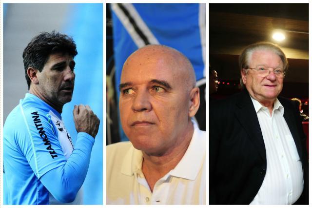 Grêmio deve anunciar Renato, Espinosa e Preis após partida contra o Fluminense Carlos Macedo, Dulce Helfer e Andréa Graiz / Agência RBS/Agência RBS